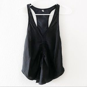 (NWT) Free People Intimately | Satin Ruched Tank